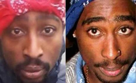 Tupac Shakur: Alive!? New Selfie Sparks Rumors