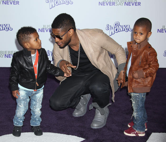 Usher and Kids