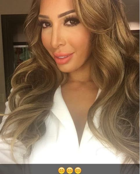 Farrah abraham in white shirt