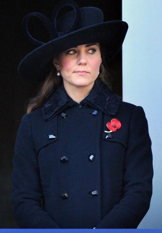 Kate Middleton is Not Impressed