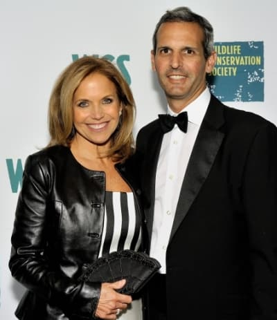 How long have katie couric and john molner been dating for two