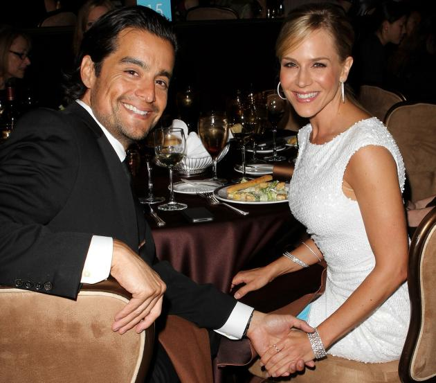 Julie Benz and Rich Orosco Picture