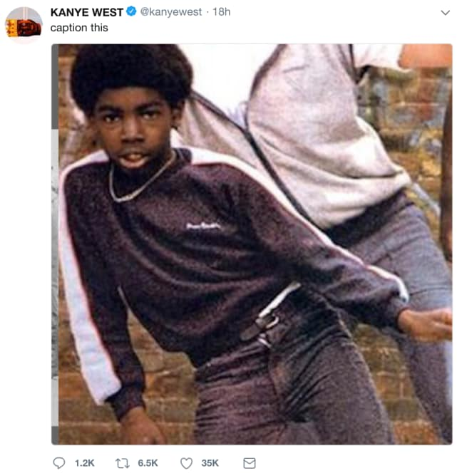 Caption This, Kanye Asks...