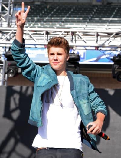Justin Bieber in California