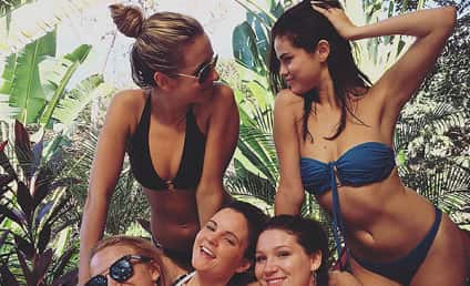 Selena Gomez Posts Bikini Pic to Ring in 2016!