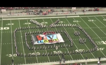 Ohio State Marching Band Performs TV Tribute: Watch!