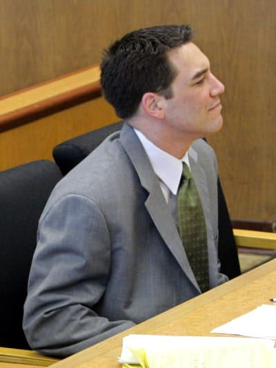Scott Peterson in the Courtroom