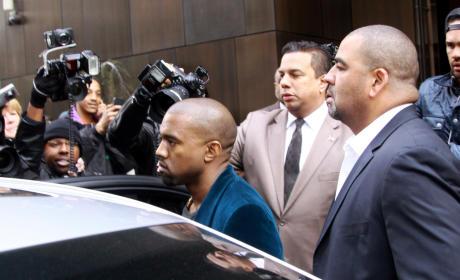 Kanye West and the Paparazzi