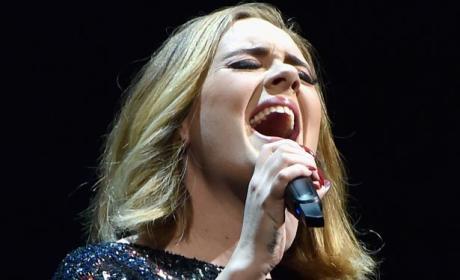Adele Live on Her European Tour