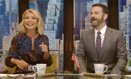 Jimmy Kimmel to Kelly Ripa: Where's Michael?!?