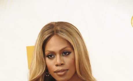 Laverne Cox at the Emmys
