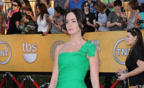 Emily Blunt at the SAG Awards