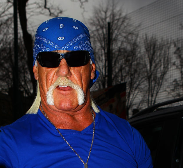 Hulk Hogan in Blue