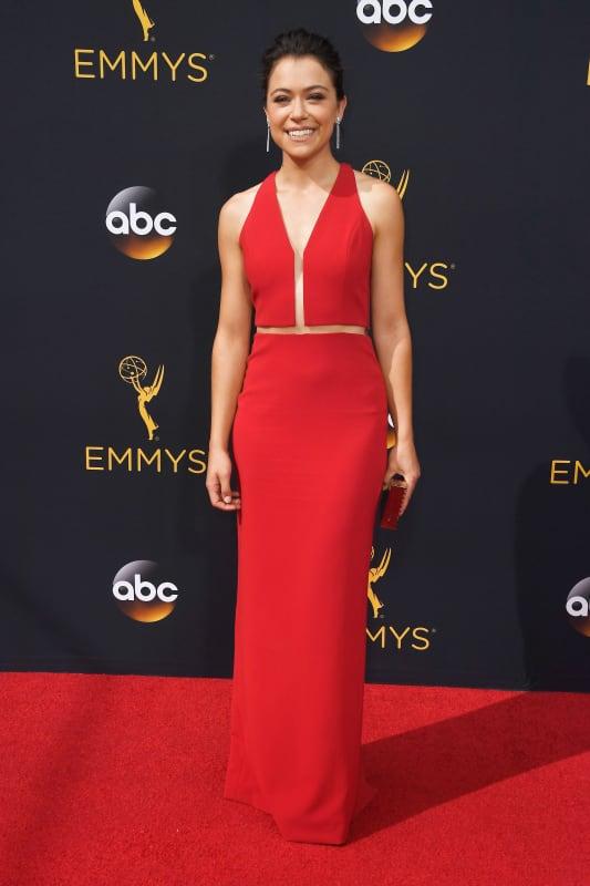 Tatiana Maslany at the 2016 Emmys