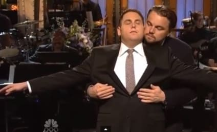 Jonah Hill and Leonardo DiCaprio Open SNL, Recreate Iconic Titanic Scene