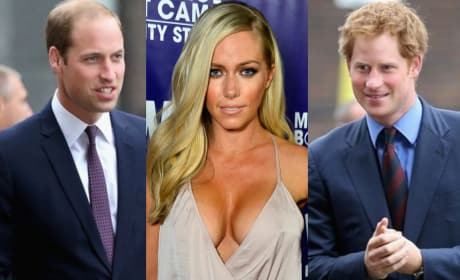 Kendra Wilkinson: I Wanna Bone Prince William AND Harry!