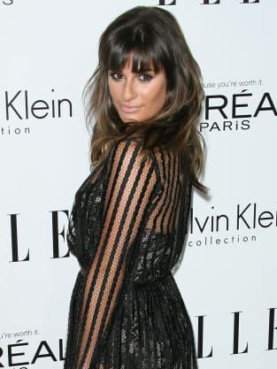 Lea Michele Baby Bump
