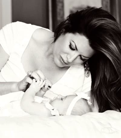Emily Simpson and Baby Annabelle