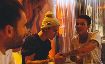 Ruby Rose: Out and About with Justin Bieber!