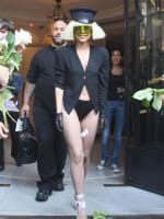 Lady Gaga: No Pants Picture