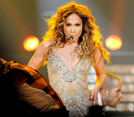 Jennifer Lopez in Toronto