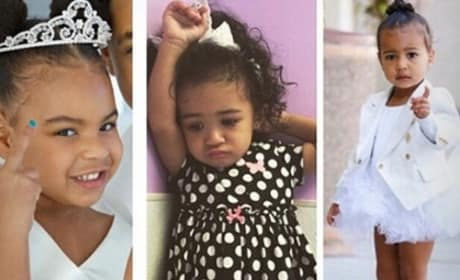 Blue Ivy, Royalty and North