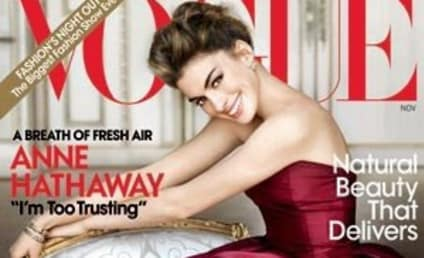 Anne Hathaway: In Vogue, Talking Relationships