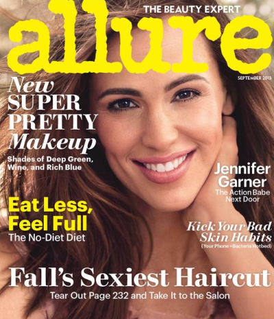 Jennifer Garner Allure Cover