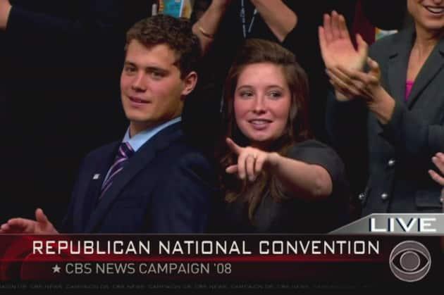 Levi Johnston and Bristol Palin
