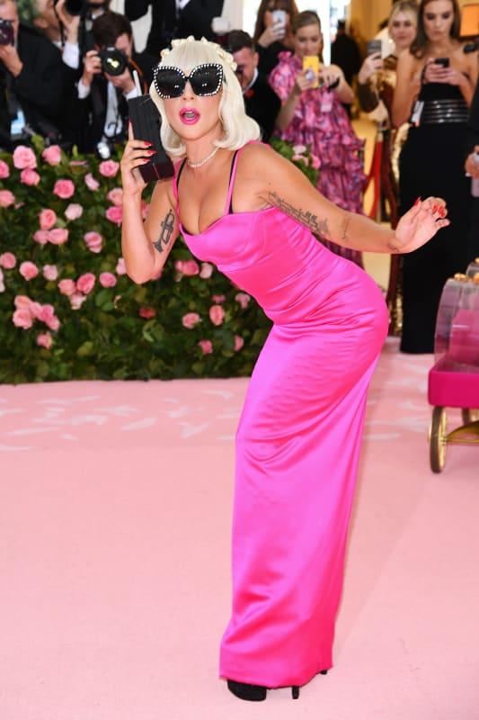 Gaga goes gala