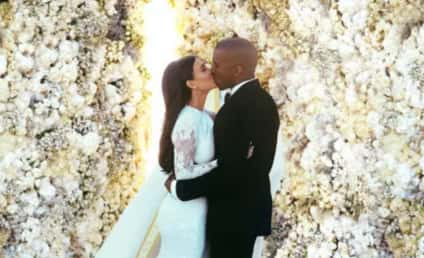 Kim Kardashian Wedding Dress: FIRST LOOK!