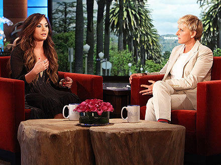 Demi Lovato on Ellen