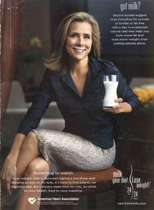 Meredith Vieira, Got Milk
