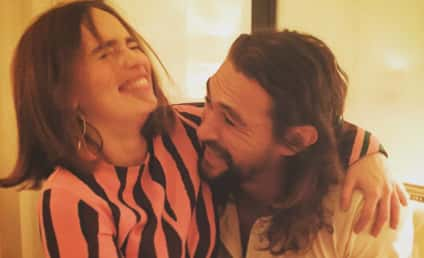 Emilia Clarke and Jason Momoa Reunite for Epic Instagram Photo