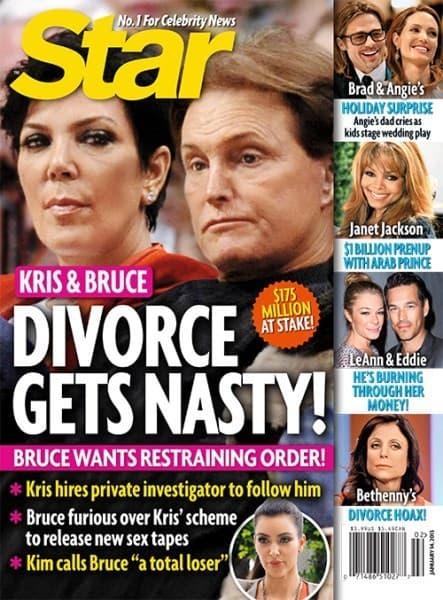 Jenner Divorce Cover