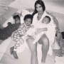 Kim Kardashian and All Three Kids, Mother's Day 2018