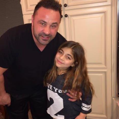 Milania Giudice and Joe Giudice, Throwback Photo