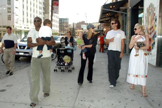 Klum And Stefani Families Photo