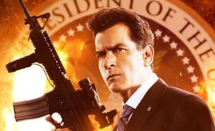 Charlie Sheen in Machete Kills Poster: Hello, Mr. President!
