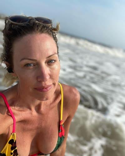 Braunwyn Windham-Burke at the Beach