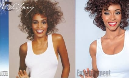 Yaya DaCosta as Whitney Houston: First Look!