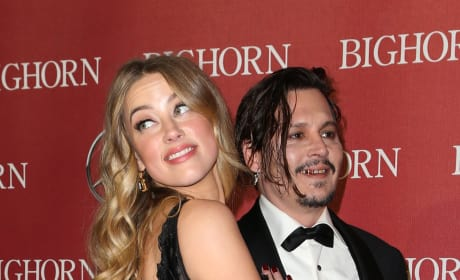 Johnny Depp: Drunk With Amber Heard!