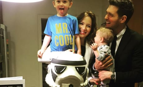 Michael Buble, Family