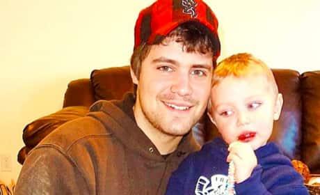 Levi Johnston and son Tripp
