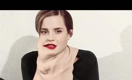 Emma Watson and Sofia Vergara: Topless Transformation Video