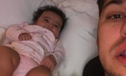 Rob Kardashian Tearfully Says Goodbye to Daughter Dream on Instagram