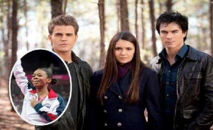The Vampire Diaries Stars Send Congratulations to Gabby Douglas