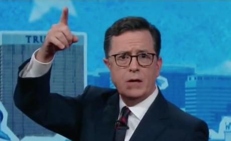 Stephen Colbert on Election Night