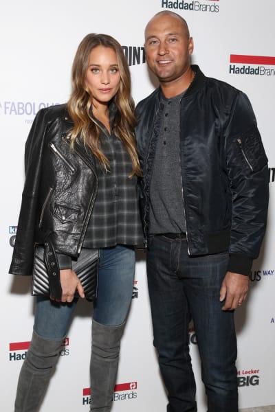 Derek Jeter and Hannah Davis Pic