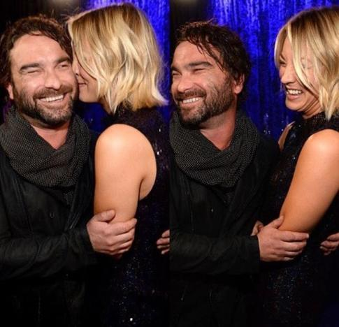 Kaley Cuoco, Johnny Galecki: People's Choice Awards